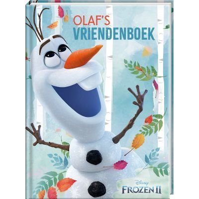 Disney Frozen 2 met Olaf Vriendenboekje Vriendenboekje