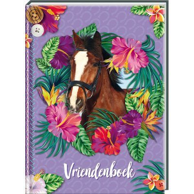 Paarden Vriendenboekje Vriendenboekje