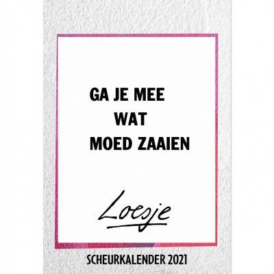 Loesje Scheurkalender 2021 Grappige kalender