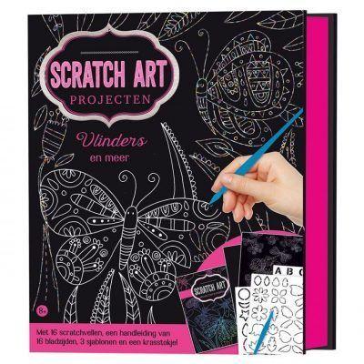 Scratch artprojecten – Vlinders Doeboek