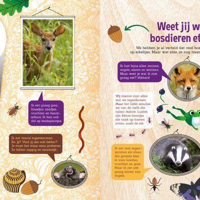 Speuren in het bos – Voorleesboek Doeboek
