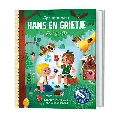 Speuren naar Hans & Grietje – Voorleesboek Doeboek