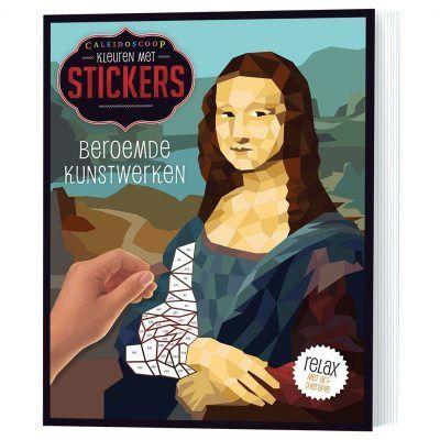Stickerboek Beroemde kunstwerken Cadeauboeken voor kinderen