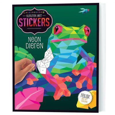 Stickerboek Neon dieren Cadeauboeken voor kinderen