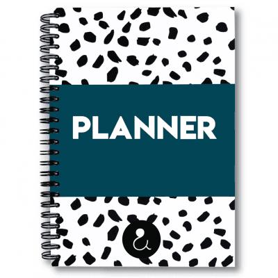 Studio Ins & Outs Planner A5 – Donkerblauw Boeken in de aanbieding