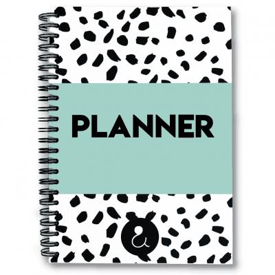 Studio Ins & Outs Planner A5 – Mint Jaarplanner