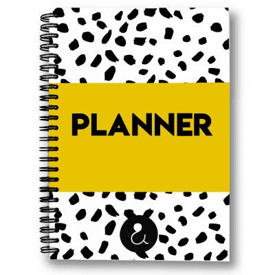Studio Ins & Outs Planner A5 – Okergeel Jaarplanner