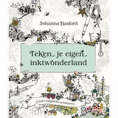 Teken je eigen inktwonderland kleurboek Kleurboek voor volwassenen