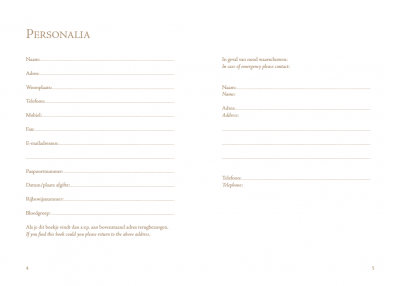 Travel reisdagboek – Wereldbol Reisdagboek