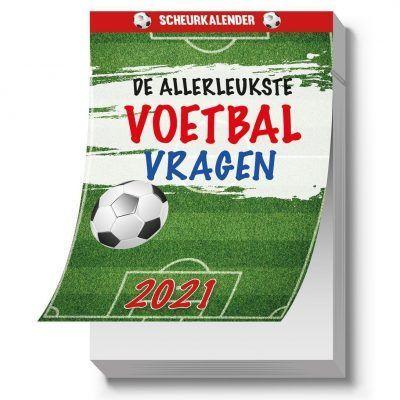 Voetbal Scheurkalender 2021 Kalenders voor 2021