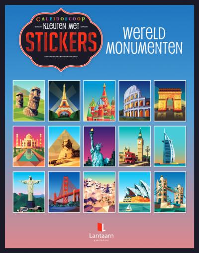 Stickerboek Wereldmonumenten Cadeauboeken voor kinderen