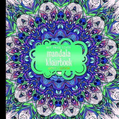 Het enige echte mandala kleurboek Artist Edition I Het enige echte mandala kleurboek