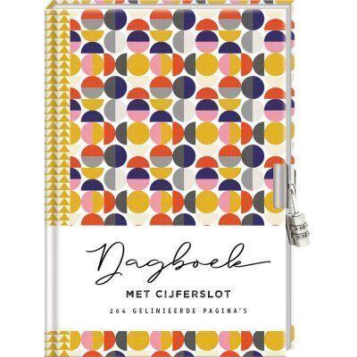 Dagboek met cijferslot voor volwassenen – Circles Dagboek met slot