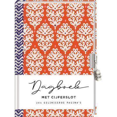Dagboek met cijferslot voor volwassenen – Leaves Dagboek met slot