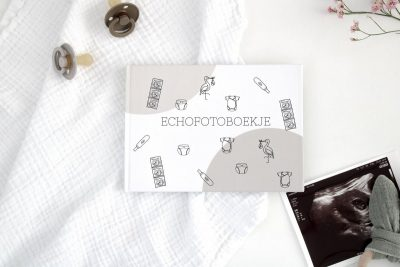 Creations of Happiness & Hip en Hout – Echo fotoboekje Echoboekje