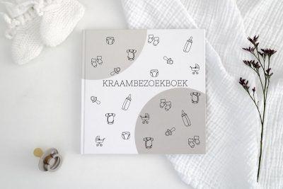 Creations of Happiness & Hip en Hout – Kraambezoekboek Kraambezoekboek
