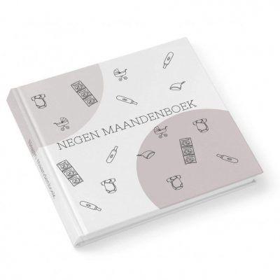 Creations of Happiness & Hip en Hout – Negen maandenboek 9 maanden dagboek