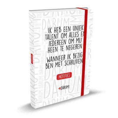 Darum Notitieboek – Uniek talent Notitieboek