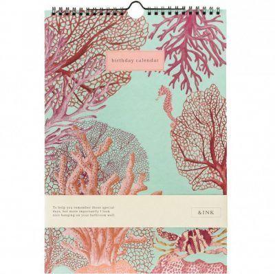 &INK Birthday calender – Aqua Dieren kalenders