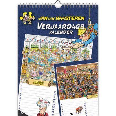 Jan van Haasteren Verjaardagskalender Jaarkalender