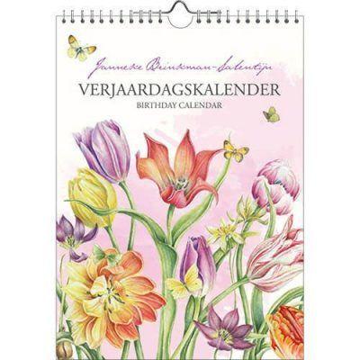 Janneke Brinkman Verjaardagskalender Tulpen Bloemen kalender