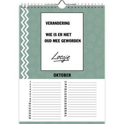 Loesje Verjaardagskalender – Jarig Grappige kalender