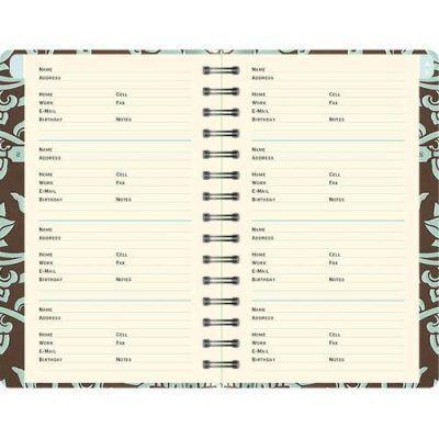 Peter Pauper Adresboek Acadian Tapestry A6 Adresboek