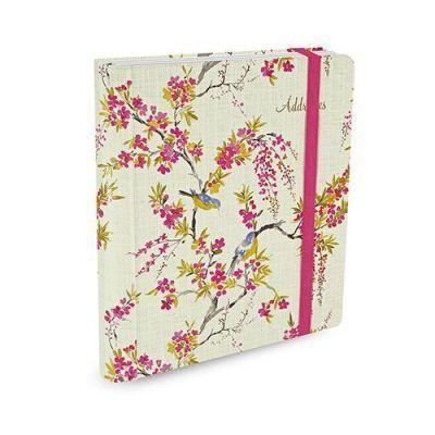 Peter Pauper Adresboek Blossoms & Bluebirds A5 Adresboek