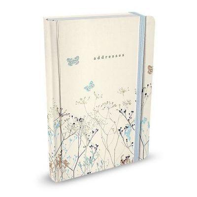 Peter Pauper Adresboek Butterflies A6 Adresboek met ringband