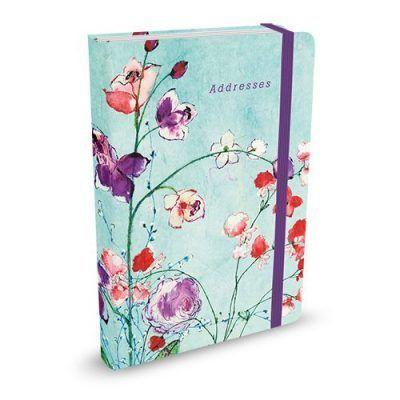 Peter Pauper Adresboek Fuchsia Blooms A6 Adresboek