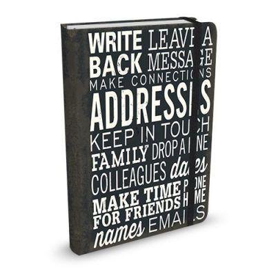 Peter Pauper Adresboek Keep in Touch A6 Adresboek met ringband