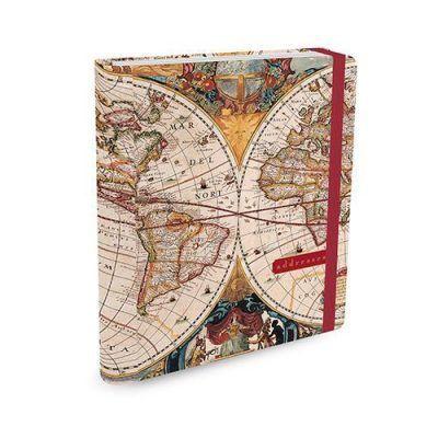 Peter Pauper Adresboek Old World A5 Adresboek
