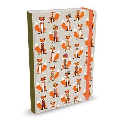 Peter Pauper Notitieboek Dapper Foxes A5 Notitieboek