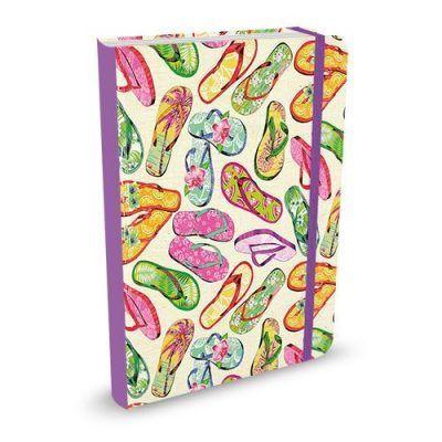 Peter Pauper Notitieboek Flip Flops A6 Notitieboek