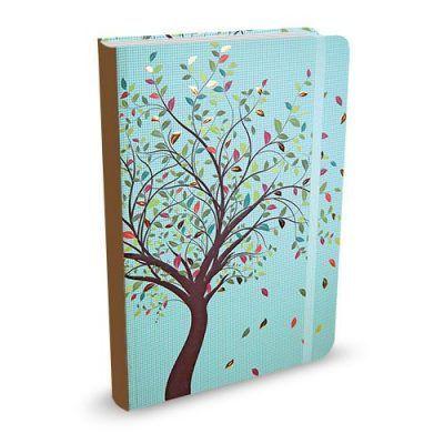 Peter Pauper Notitieboek Tree of Life Blue A6 Notitieboek