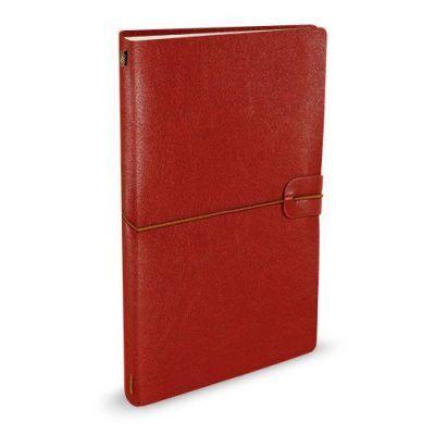 Peter Pauper Notitieboek Voyager leer Burgundy Leren notitieboek