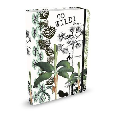 Studio Onszelf Notitieboek Go wild! Schriften