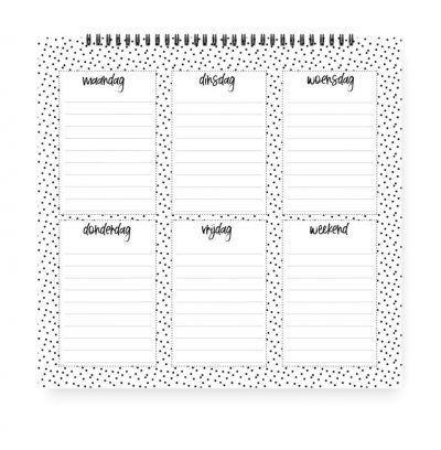 Winkeltjevananne Weekplanner Jaarplanner