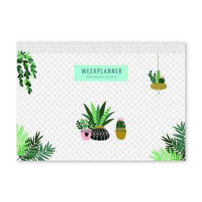 Weekplanner – Houseplants Notitieblokken