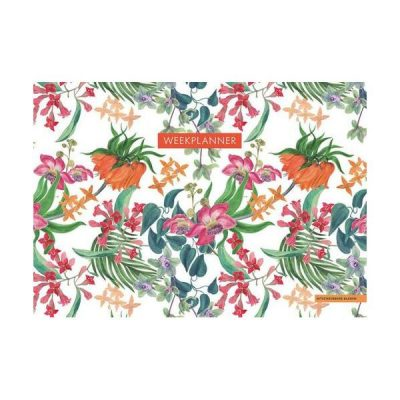 Weekplanner – Tropical Flowers Notitieblokken