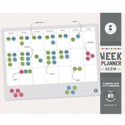 Gezinnig Weekplanner gezin – A3 Familie weekplanner