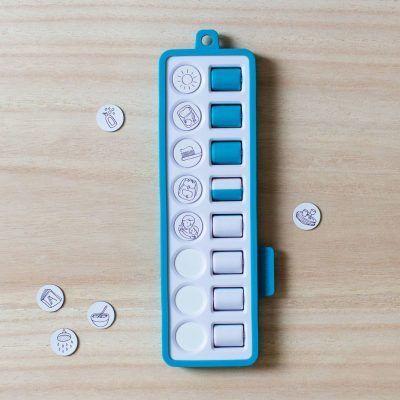 Gezinnig Checkpad – Blauw Dagplanner