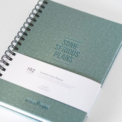 Studio Stationery Planner My green planner Agenda's