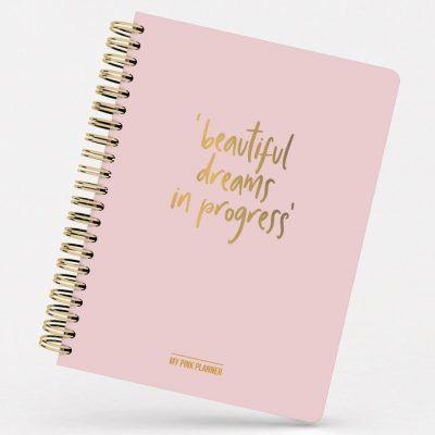 Studio Stationery Planner My pink planner Agenda's