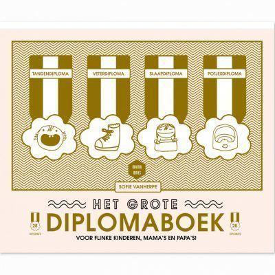 Mama Baas Het grote diplomaboek Cadeauboeken