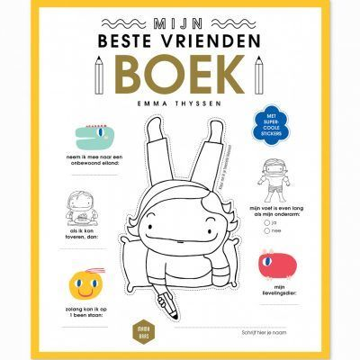 Mama Baas Mijn beste vriendenboek Cadeauboeken voor kinderen