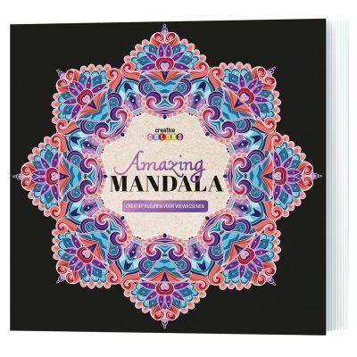 Amazing mandala kleurboek Kleurboek voor volwassenen