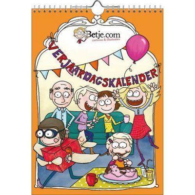 Betje Verjaardagskalender – A4 Jaarkalender