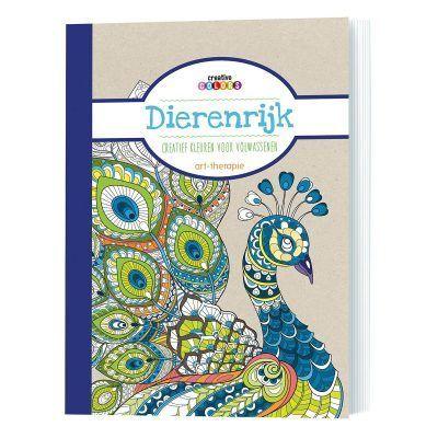 Dierenrijk kleurboek Kleurboek dieren