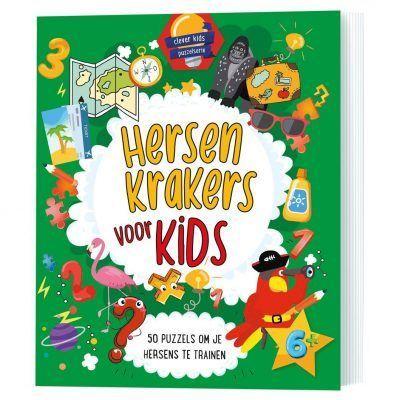 Hersenkrakers voor kids – Puzzelboek Kinderboeken